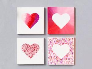 Valentines canvas