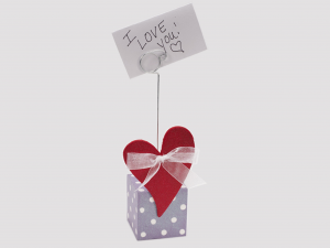 Valentine's card holder