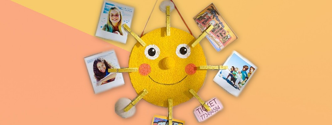 Sun photo holder