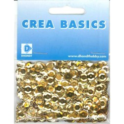 Cup 6 mm gold, 10 gr