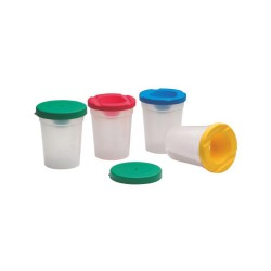 Non Spill Pots+stopper+Cap