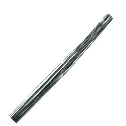 Flower sticks metal 40cm - Green (20 pcs)