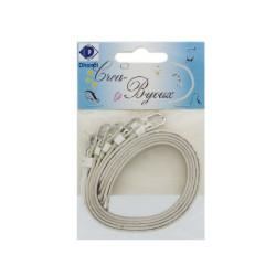 Bracelet for glide letters - White (5 pcs)