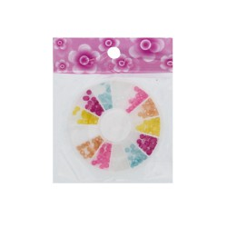 Nail Art Embellishments Pearl round Mix