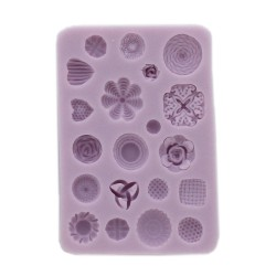 Silicon mould, Fashion Buttons