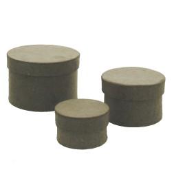 Paper Shape Set/3 round 4 - 5.5 - 7 cm