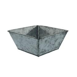 Zinc tray square 15 x 15