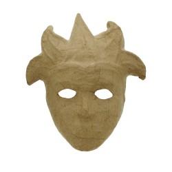 Paper Shape Venetian Mask Clown25x30x6.6.5 cm