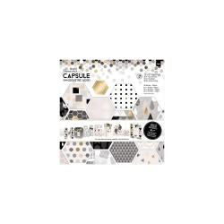 12 x 12'' Paper Pack (36pk) - Capsule - Geometric Mono