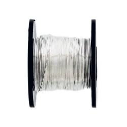 Copper wire 0,5mm x 25m - Silver