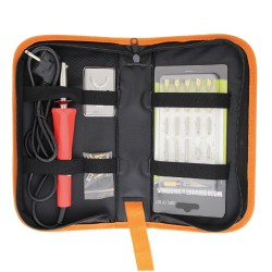 Wooden Burn Pen Set / Zipper Bag Packing 60w