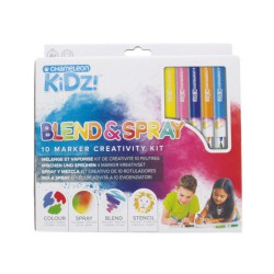 Chameleon KIDZ Blend&Spray 10 markers