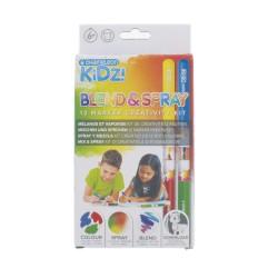 Chameleon KIDZ Blend&Spray 12 markers