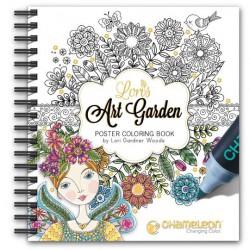 Chameleon Coloring Book Lori's art garden 20x25 cm / 20 designs