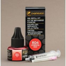 Chameleon Ink Refill 25ml Crimson Red RD4