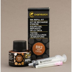 Chameleon Ink Refill 25ml Hot Cocoa BR2