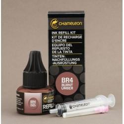 Chameleon Ink Refill 25ml Burnt Umber BR4