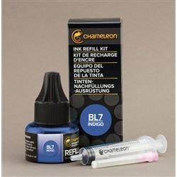 Chameleon Ink Refill 25ml Indigo BL7