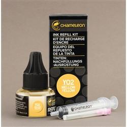 Chameleon Ink Refill 25ml Mellow Yellow YO2