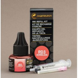 Chameleon Ink Refill 25ml Vermillion RD3