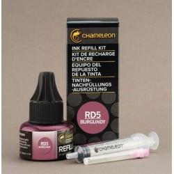 Chameleon Ink Refill 25ml Burgundy RD5