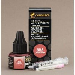 Chameleon Ink Refill 25ml Cinnamon BR3