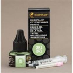 Chameleon Ink Refill 25ml Green Apple GR1