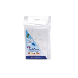 Blank puzzle A6, 6 pcs - with 6 envelopes