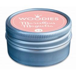 Ink pad Woodies 35mm x 35mm - Marvellous Magnolia