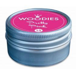 Ink pad Woodies 35mm x 35mm - Pretty Pink