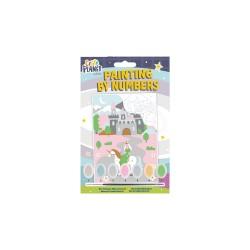 Mini schilderen op nummer - Sprookjes kasteel