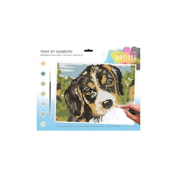 Large Paint by Numbers - Dog