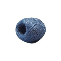 Jutetouw 100gr blauw