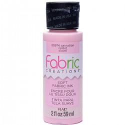 Fabric Creations Soft Fabric Ink 59ml Carnation