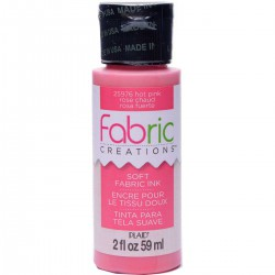 Fabric Creations Soft Fabric Ink 59ml Hot Pink