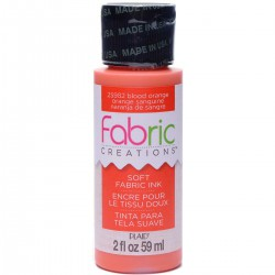 Fabric Creations Soft Fabric Ink 59ml Blood Orange