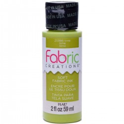 Fabric Creations Soft Fabric Ink 59ml Lime