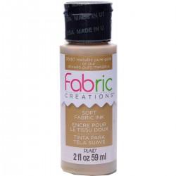 Fabric Creations Soft Fabric Ink 59ml Metallic Gold