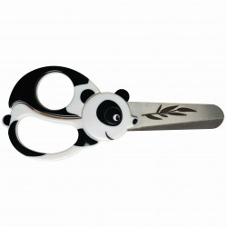 Kinderschaar panda