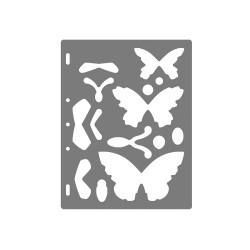 Fiskars snij-sjabloon vlinders
