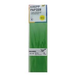 Crepe papier 50cm x 250cm - Lime green (10 pcs)