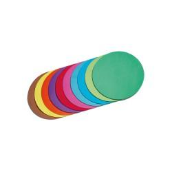 Vouwblad rond 10cm P/500 mix