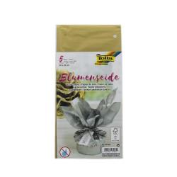Tissue paper 50cm x 70cm - Gold (5 pcs)