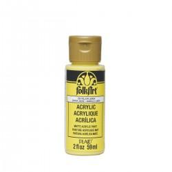 FolkArt Acrylic Colors 59ml Yellow Lemon