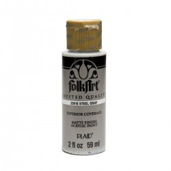 FolkArt Acrylic Colors 59ml Steel Gray
