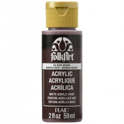 FolkArt Acrylic Colors 59ml Dark Brown