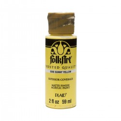 FolkArt Acrylic Colors 59ml Sunny Yellow