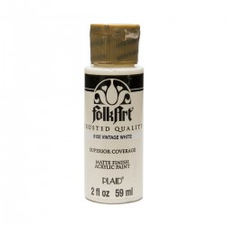 FolkArt Acrylic Colors 59ml Vintage White