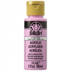 FolkArt Acrylic Colors 59ml Light Peony