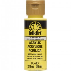 FolkArt Acrylic Colors 59ml Lemon Yellow